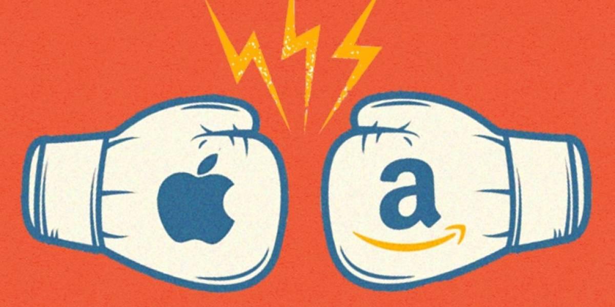 Apple x Amazon: a batalha das titãs que valem trilhões de dólares