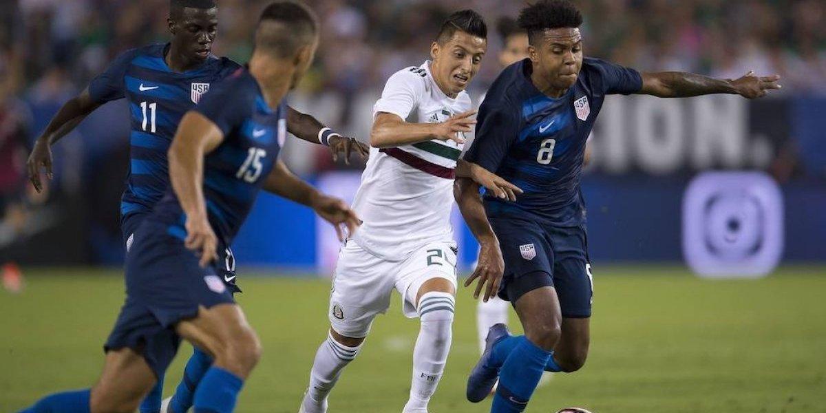 México cae 1-0 ante Estados Unidos en amistoso