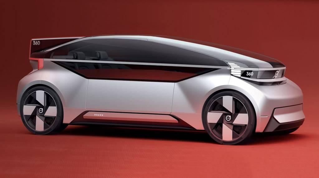 Volvo se imagina al vehículo autónomo del futuro y este es el resultado