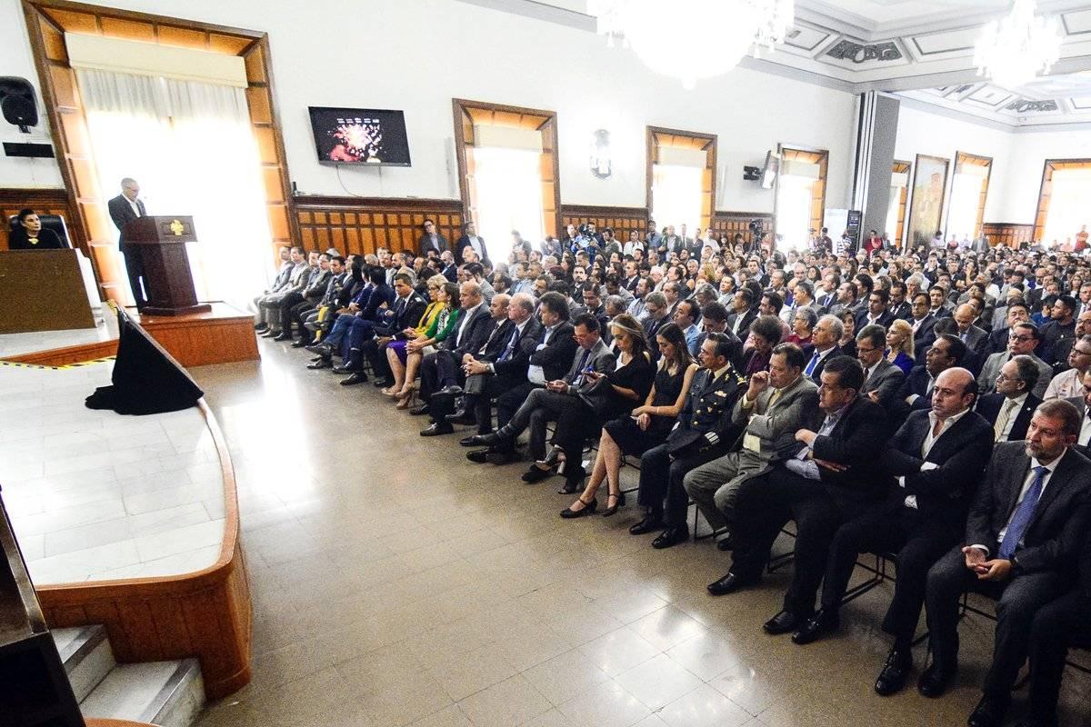 Rinde Enrique Ibarra su último informe de gobierno