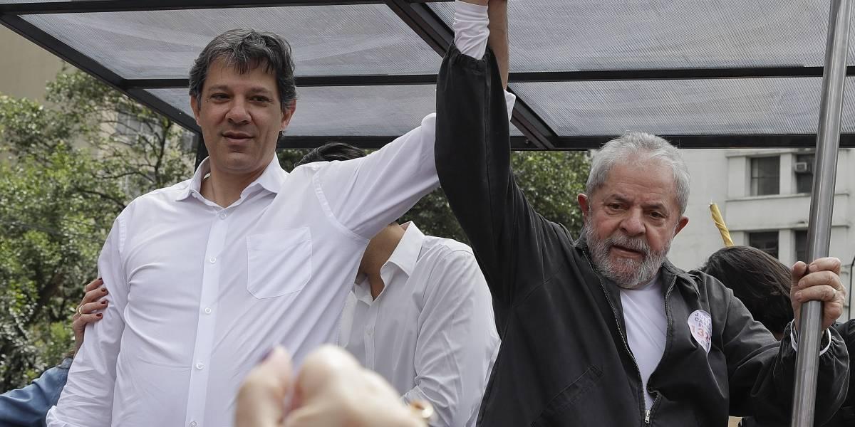 Lula da Silva desiste y  anuncia como candidato a las presidenciales en Brasil a  Fernando Haddad