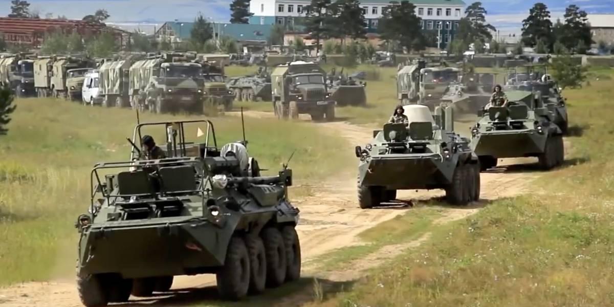 Así son las monstruosas maniobras militares que Rusia despliega para atemorizar a sus enemigos