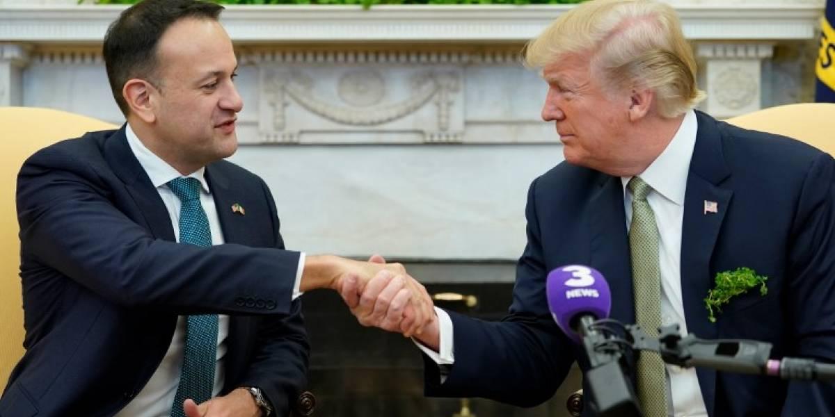 Aplazan polémica visita de Donald Trump a Irlanda
