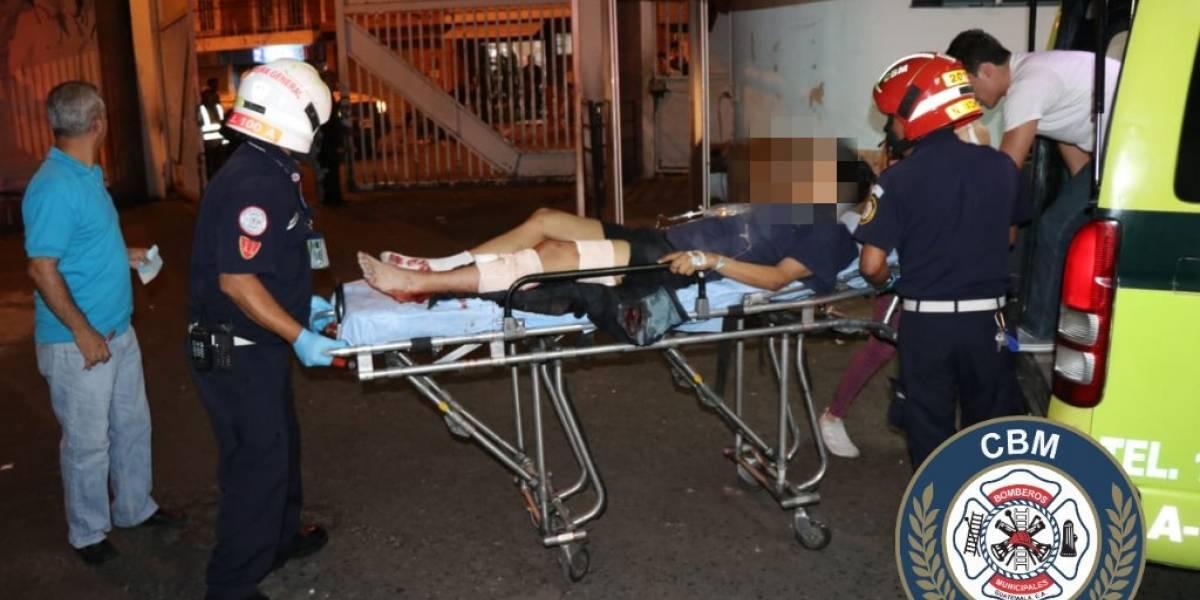 Dos hombres y una mujer resultan heridos tras balacera en La Palmita