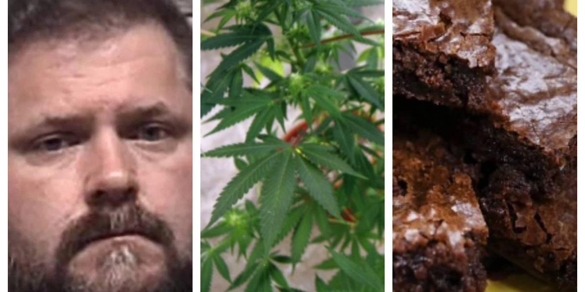 """Cometió un """"pequeño error"""" y podría terminar en la cárcel: """"mezcló"""" brownies normales con unos de marihuana e intoxicó a 4 niños"""