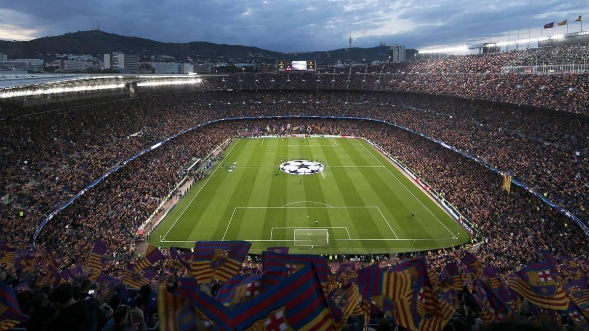 Ubicación: Barcelona, España Capacidad: 99,300 Equipo: FC Barcelona