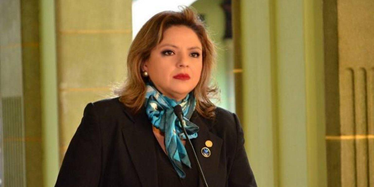 """Sandra Jovel calificó de """"desafortunada"""" la declaración de Bachelet sobre el tema de CICIG"""