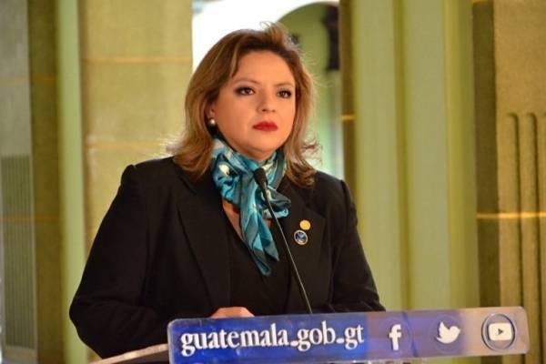 Canciller Sandra Jovel