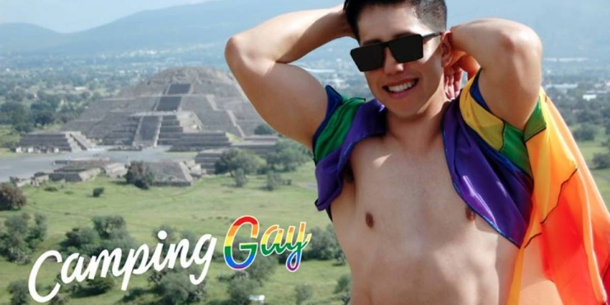 Organizan campamento gay en las pirámides de Teotihuacán