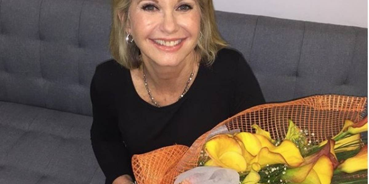 Olivia Newton-John fue diagnosticada con cáncer por tercera vez
