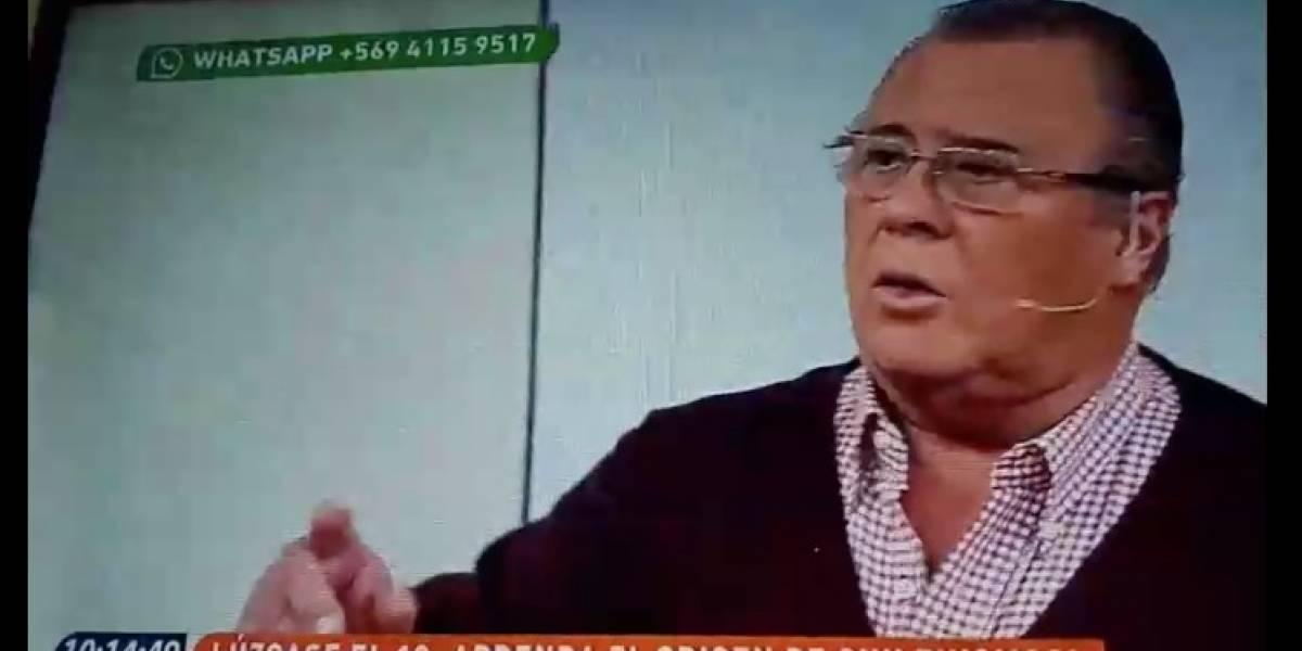 """Campusano vive trolleo en vivo en """"Muy buenos días"""""""