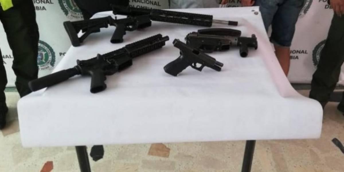 Encuentran caleta de armas de largo alcance en un jardín infantil en Bogotá