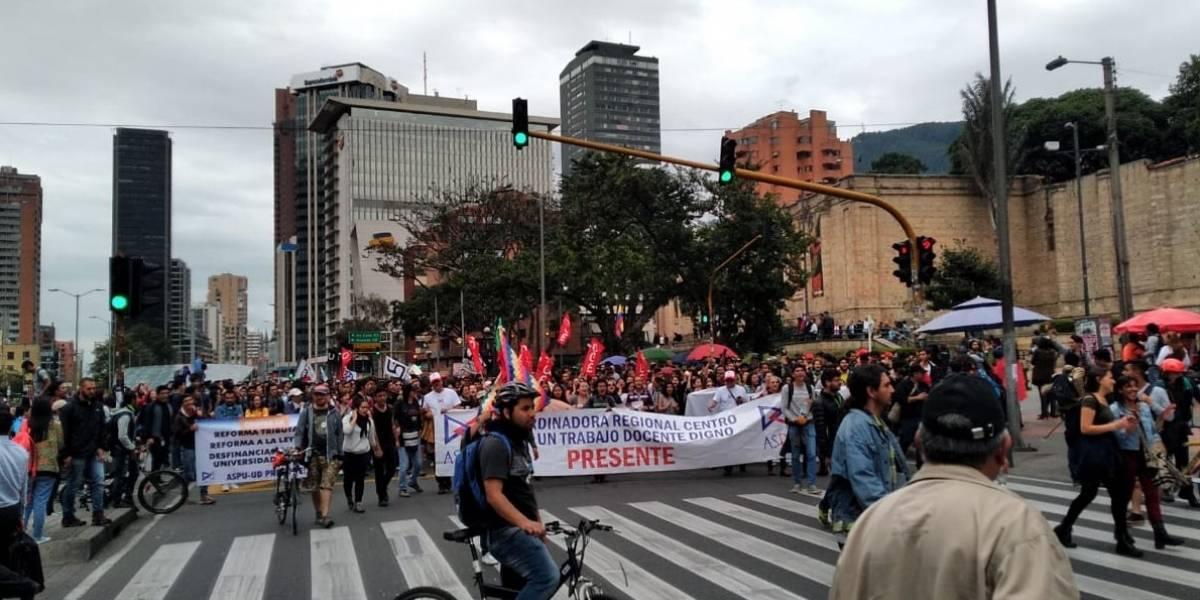 ¡Atención! cerradas varias estaciones de TransMilenio por manifestaciones