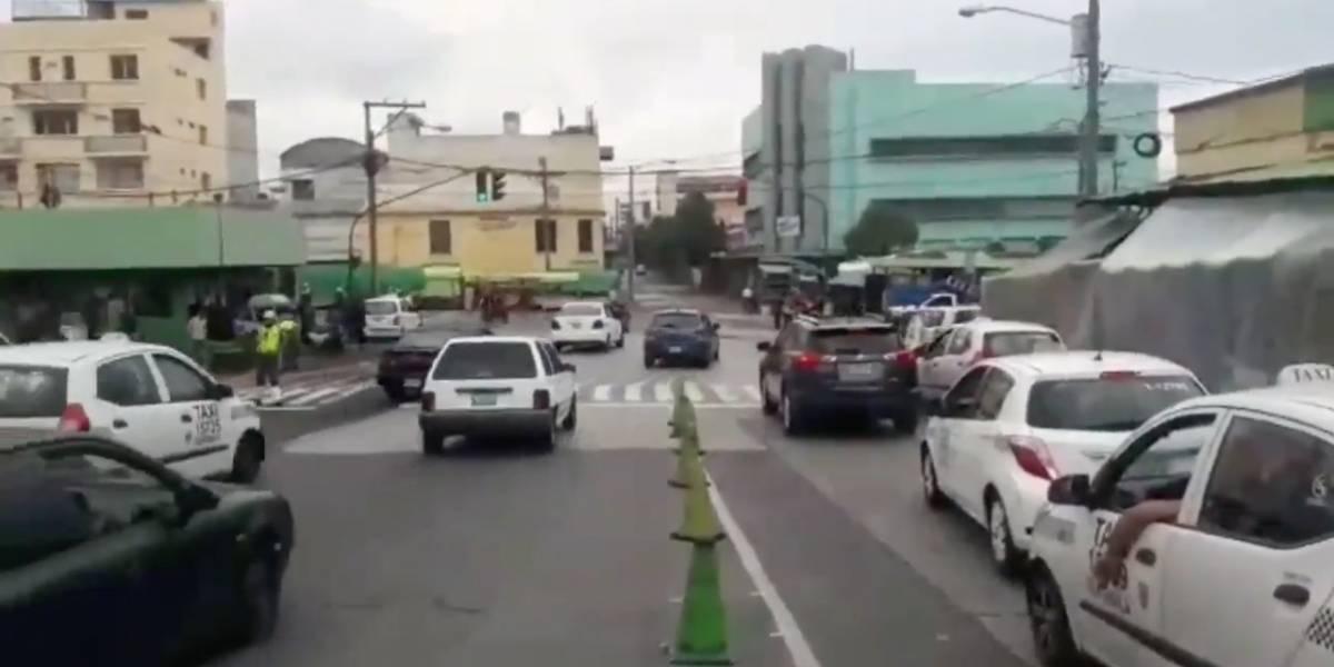 ¡Atención! Estos son los nuevos semáforos en la zona 1