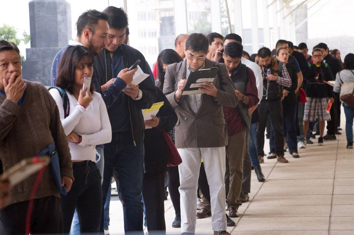 La tasa nacional de desempleo alcanzó 3.3% de la Población Económicamente Activa (PEA) al cierre del segundo trimestre del año; los jóvenes son los más afectados / Cuartoscuro