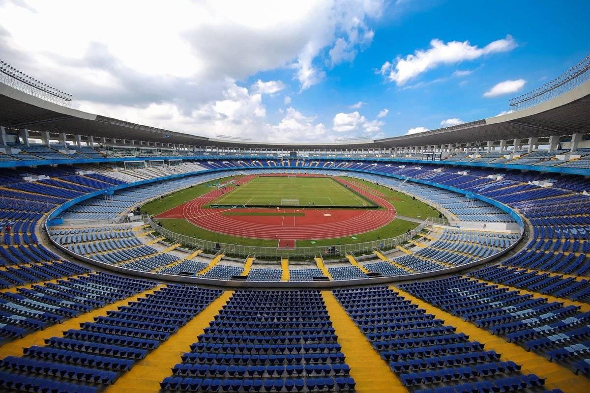 Ubicación: Alexandria, Egipto Capacidad: 86,000 Equipo: Selección Nacional de Egipto Cortesía