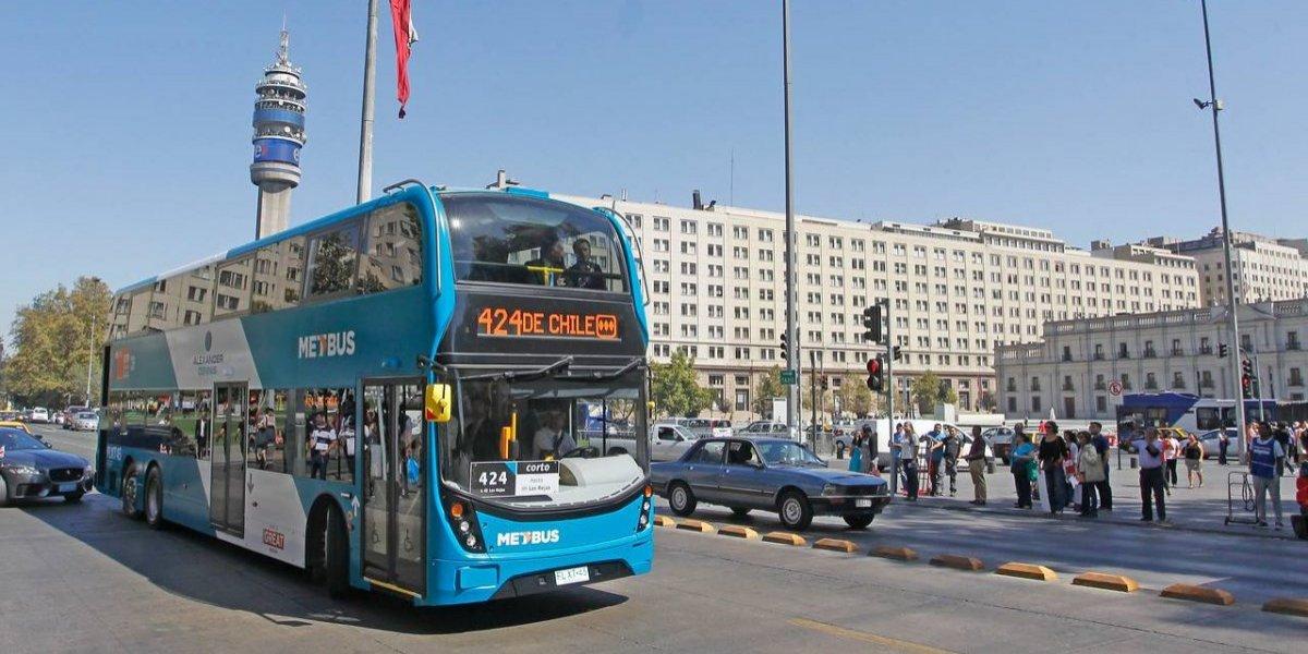 Los otros cambios al Transantiago: abren la puerta a buses dos pisos