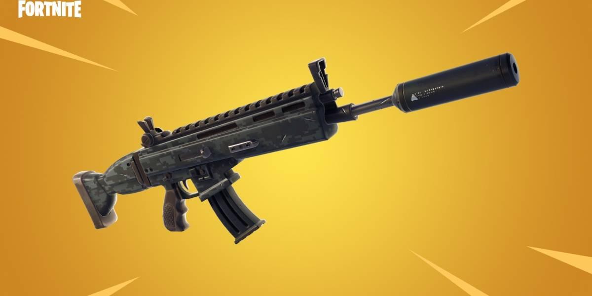 Fortnite agrega un rifle de asalto con silenciador y elimina el subfusil con tambor