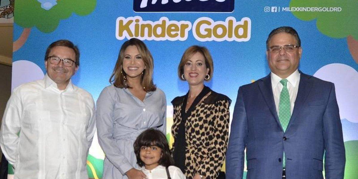 #TeVimosEn: Milex Kinder Gold presenta su nueva campaña 'Fuerzas para Crecer'