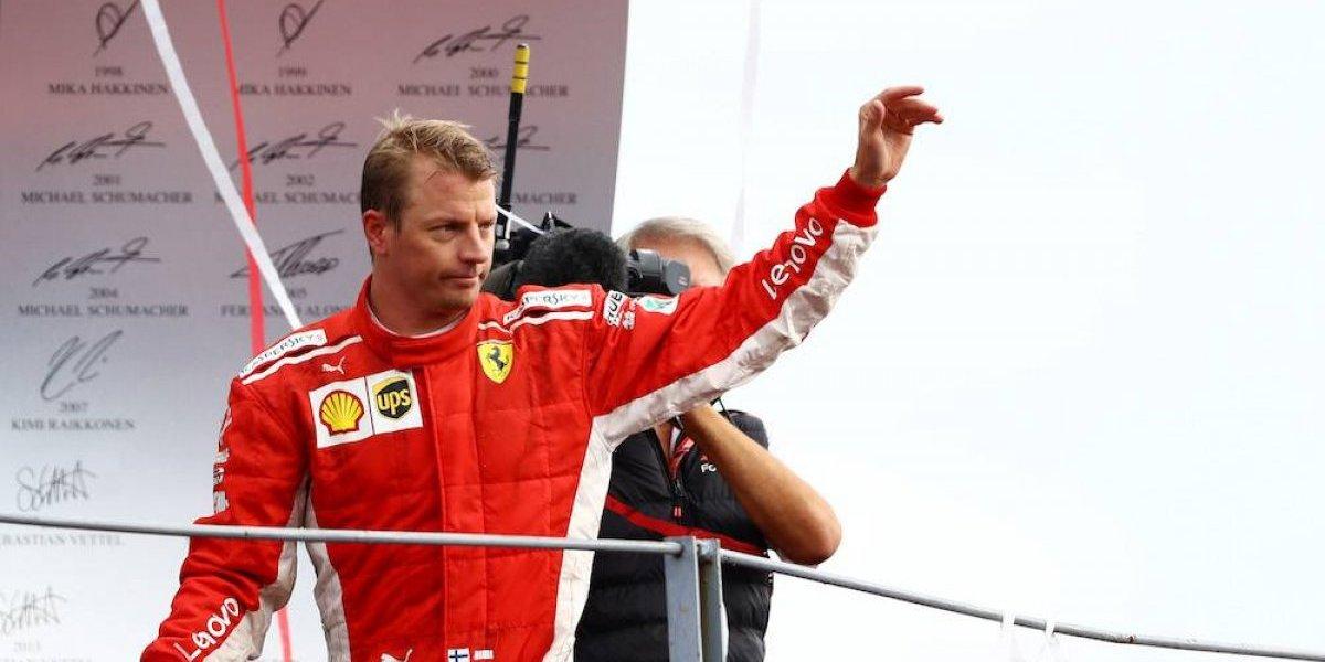 Kimi Raikkonen dejará Ferrari para correr con Sauber