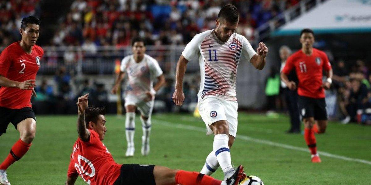 Diego Rubio no fue solución para Rueda en su retorno a la Roja tras siete años de ausencia