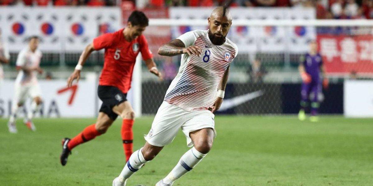 Chile consiguió un empate y sumó experiencia ante Corea del Sur en la complicada gira asiática