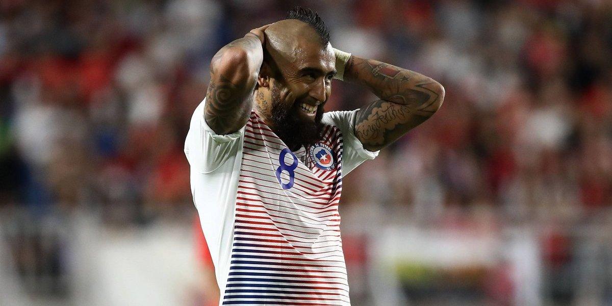 """La sinceridad de Arturo Vidal por el gol perdido en su retorno a la Roja: """"Me confié"""""""