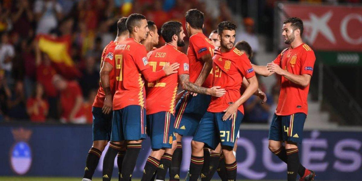 Croacia no demostró su condición de subcampeón del mundo y fue humillado por España en la Nations League
