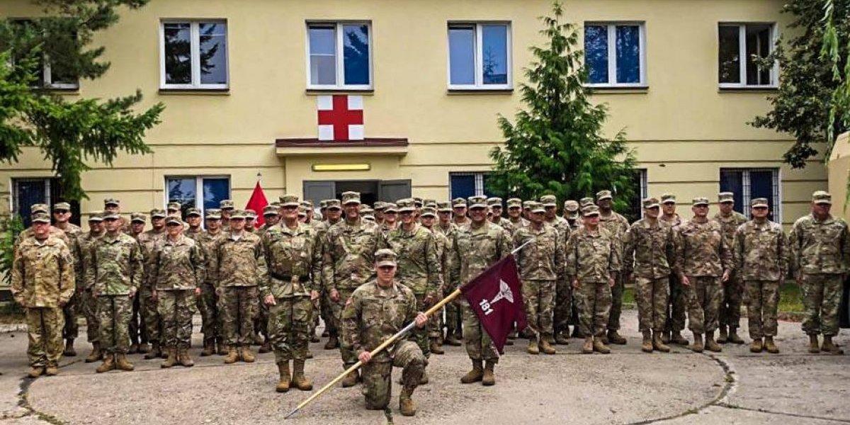Compañía Médica de la Guardia Nacional de Puerto Rico se destaca en Polonia