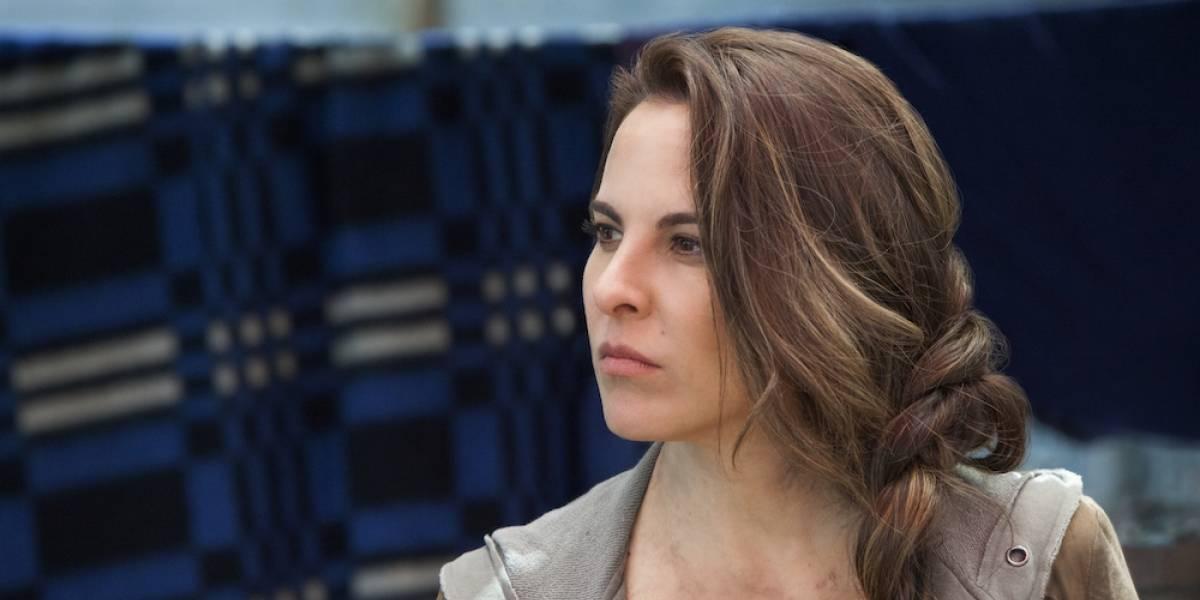 'Me gusta, pero me asusta', Kate del Castillo sobre AMLO