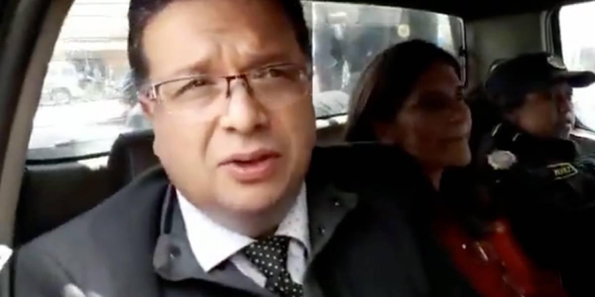 """VIDEO. """"Estoy en las manos de Dios"""", dijo el exalcalde de Quetzaltenango, Jorge Barrientos"""