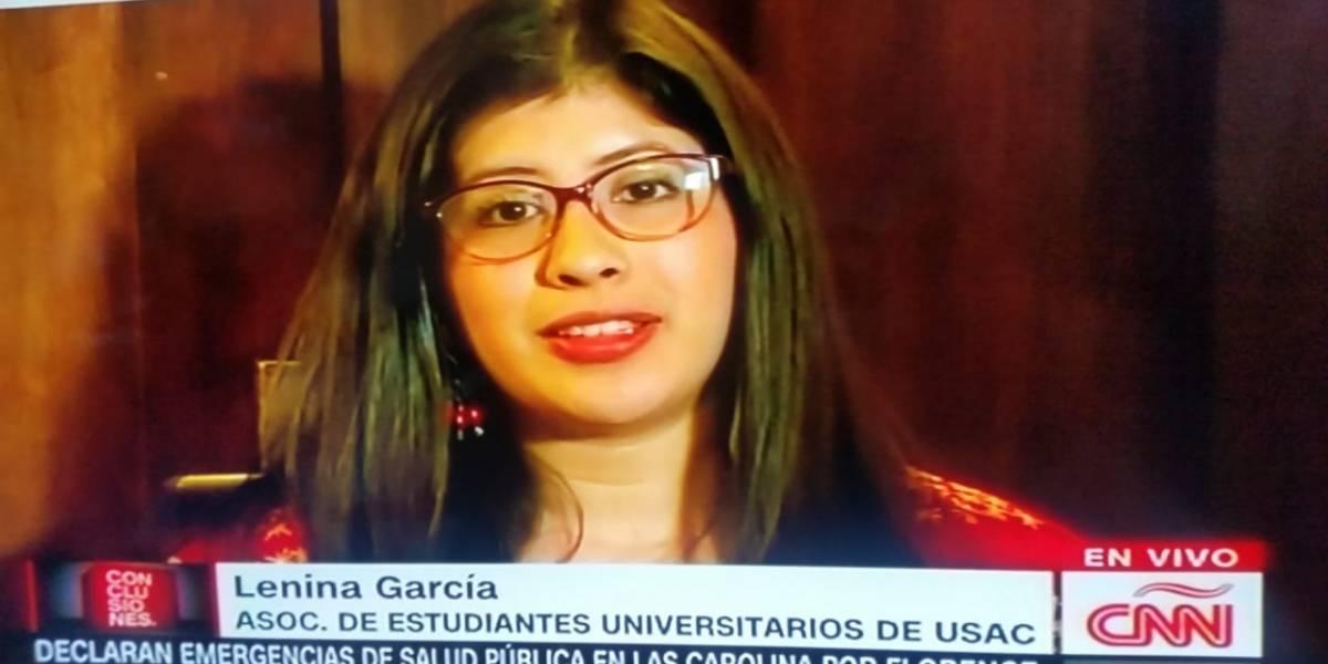 """Lenina García: """"El que ha salido caro es él, el presidente Morales"""""""