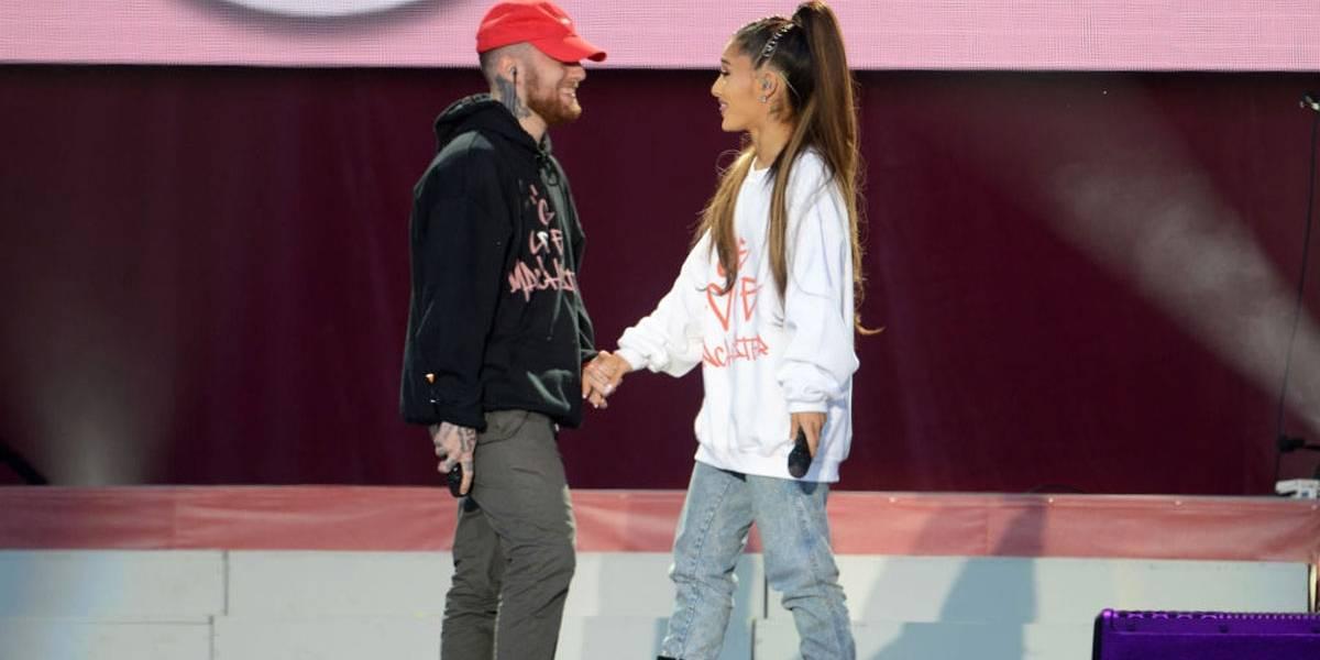 Ariana Grande anuncia pausa na carreira por morte de Mac Miller