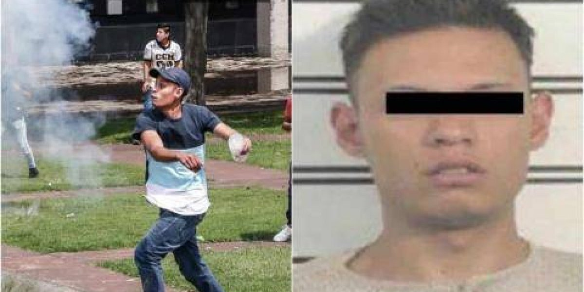 El Mamitis, el único porro detenido por agresiones en Rectoría