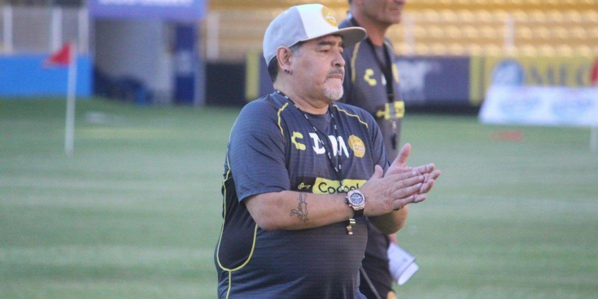 Dorados ganó más de 80 mil seguidores con la llegada de Maradona