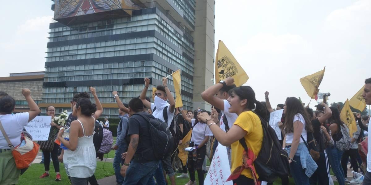 Dan de alta a estudiante de la UNAM herido en CU