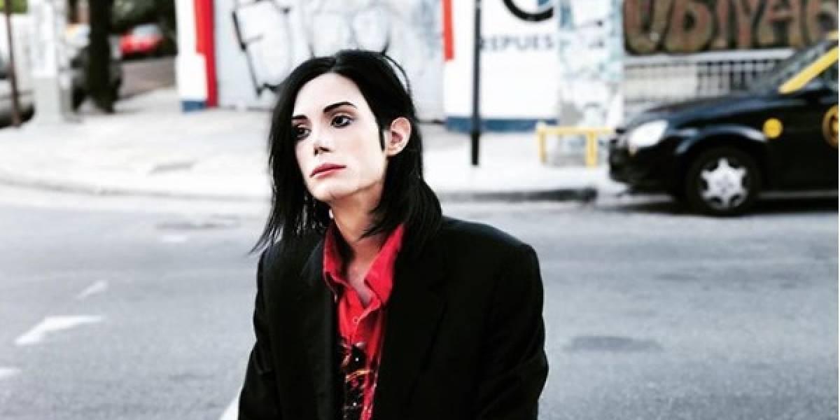 Él es Felipe Pettinato, el Michael Jackson argentino
