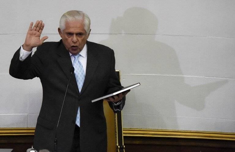 Omar Barboza, presidente del opositor Parlamento de Venezuela