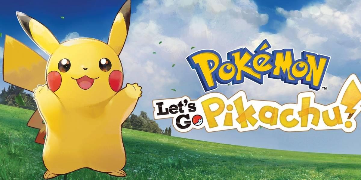 """Nintendo lanzará una Switch especial inspirada en Pokémon Let's Go"""""""