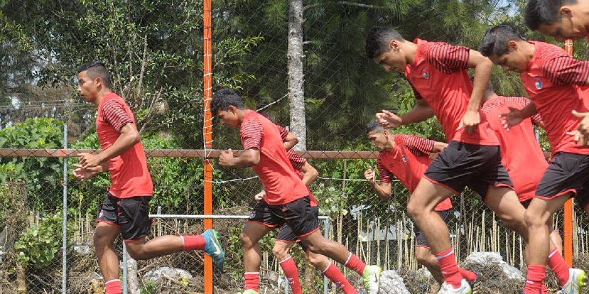 Rojos y cremas debutarán este miércoles en el Torneo de Copa
