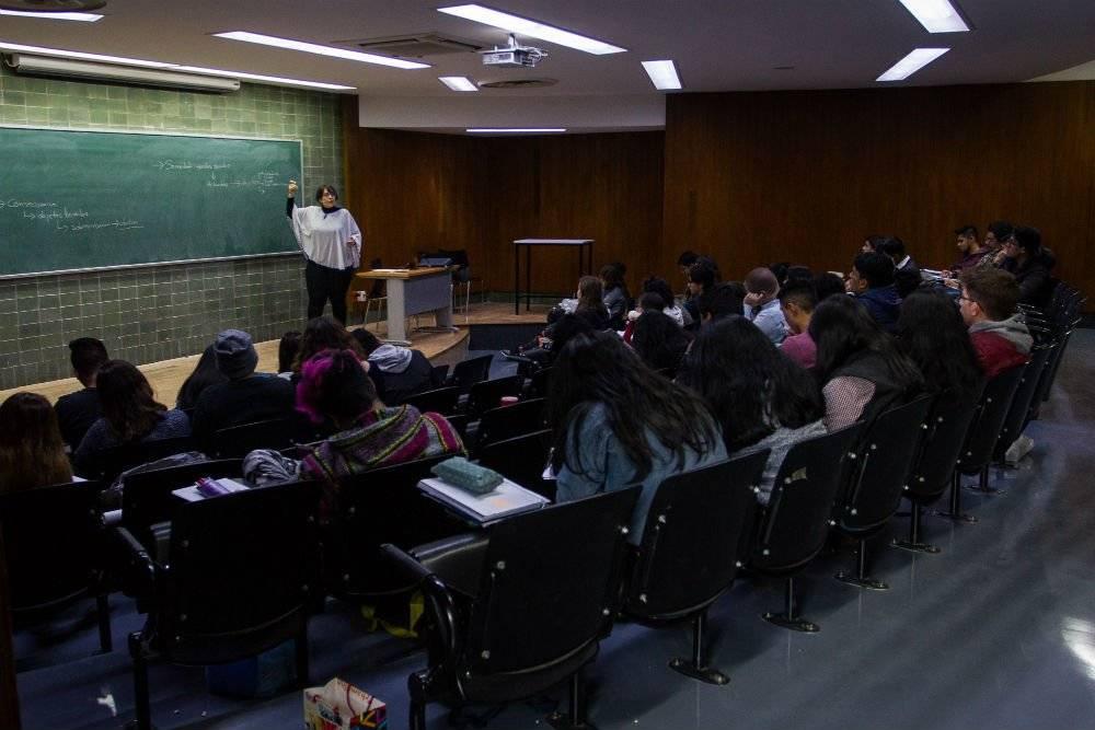 Regreso a clases en la UNAM Foto: Cuartoscuro