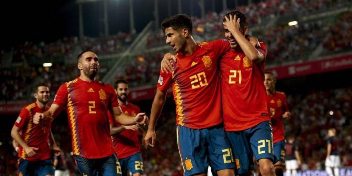 España humilla a la subcampeona del mundo, Croacia, en la Liga de Naciones