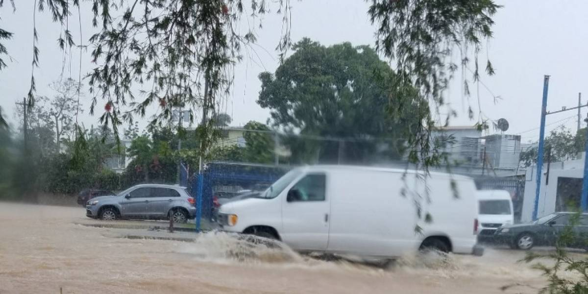 Reportan emergencias en San Juan debido a inundaciones