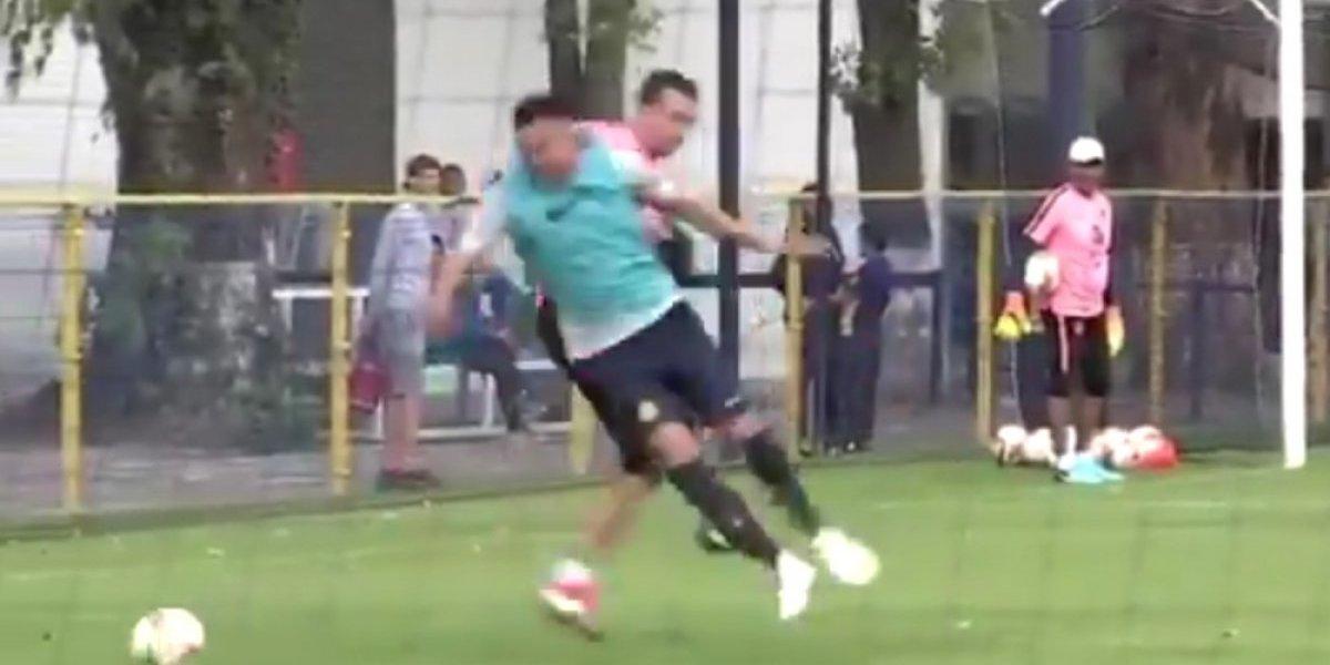 Agustín Marchesín 'perdió la cabeza' en entrenamiento y pide disculpas