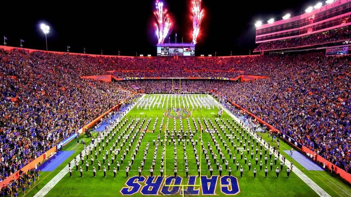 Ubicación: Gainesville, Florida, EU Capacidad: 88,500 Equipo: Florida Gators Football Cortesía