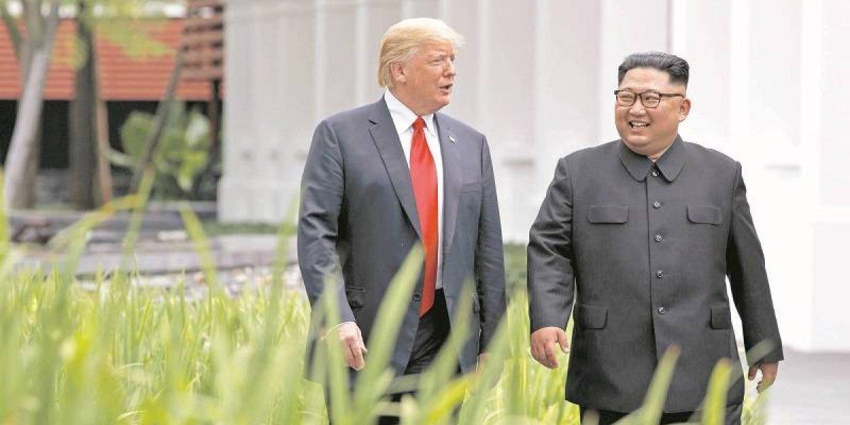 """Kim Jong-un envía """"cálida"""" carta a Trump para reunirse de nuevo"""