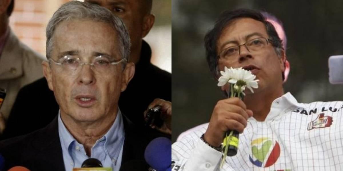 Uribe pone tutela a Petro por afirmar que debería estar preso