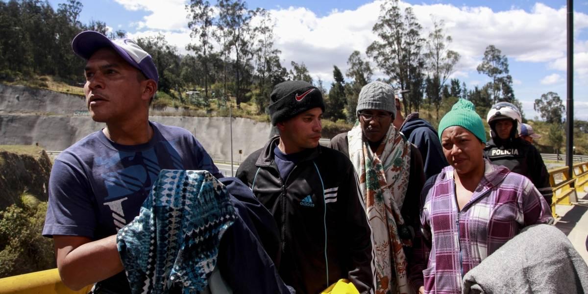 Migrantes venezolanos tienen seis días para abandonar los albergues