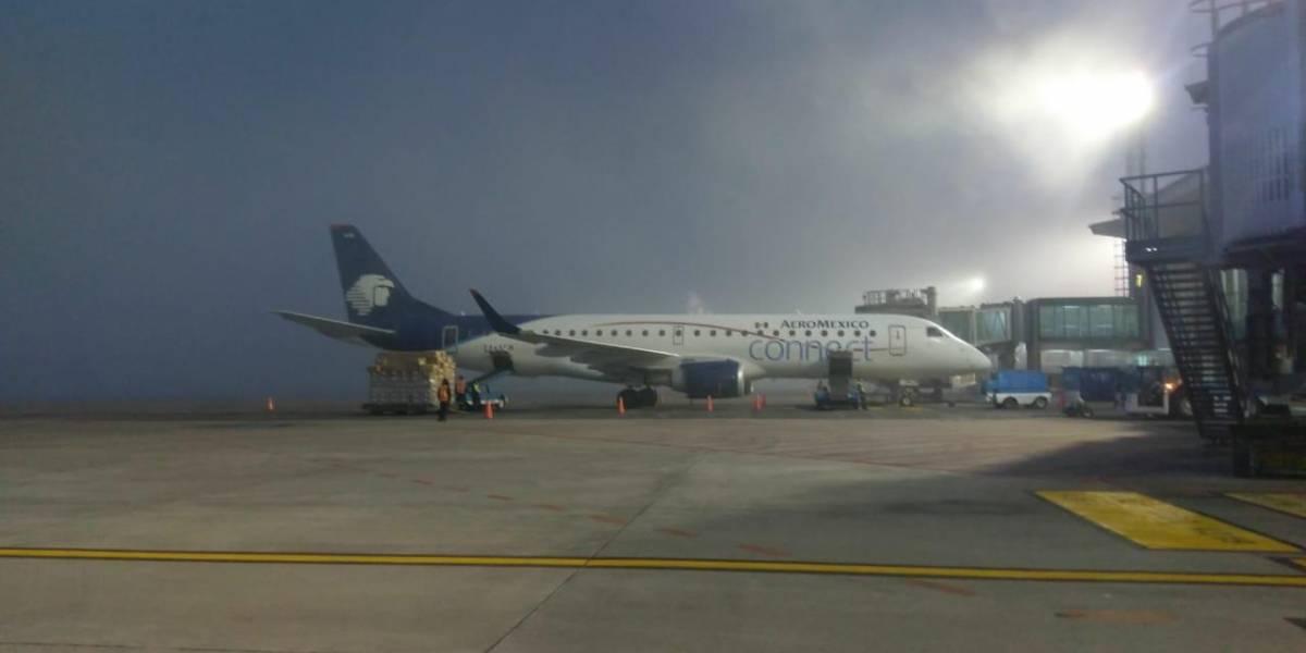 Densa niebla sobre la ciudad obliga a cerrar de nuevo el aeropuerto La Aurora