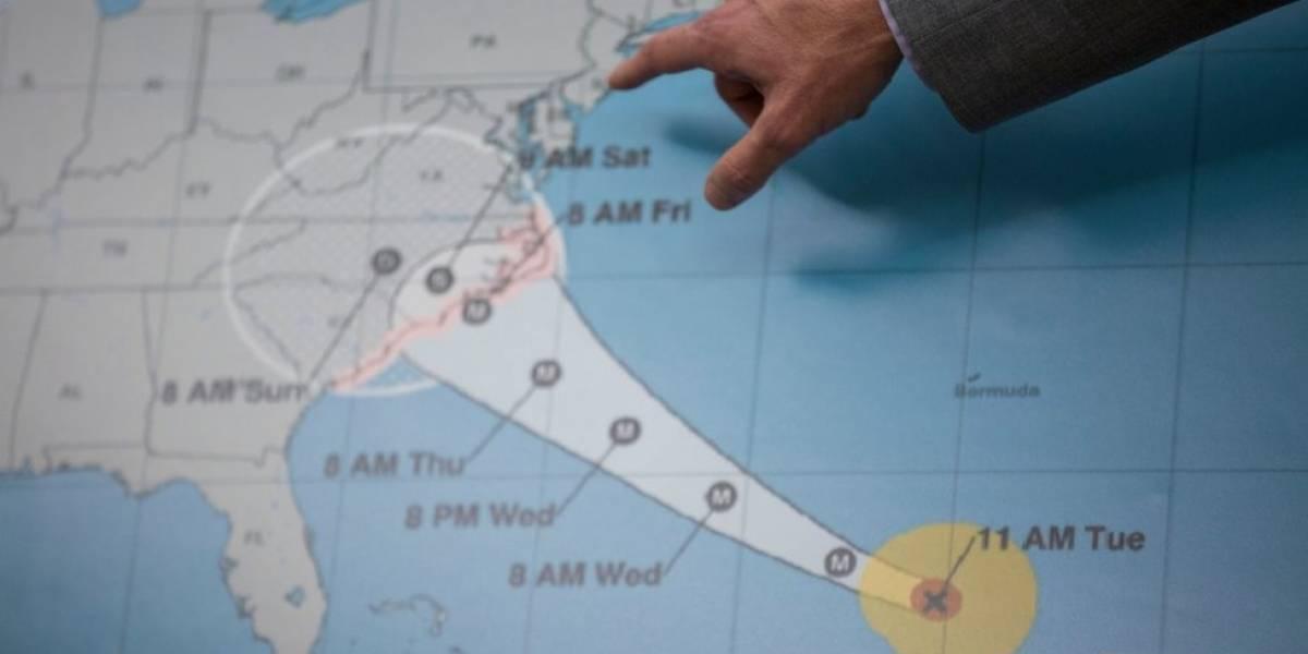 """3 fatores que explicam por que o furacão Florence é 'assombroso' e """"extremamente perigoso"""""""